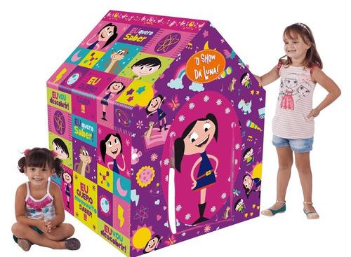 barraca show da luna multibrink casinha criança original