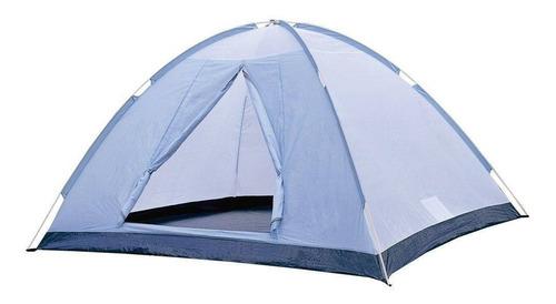 barraca tenda azul iglu 2/3 pessoas nautika fox - original