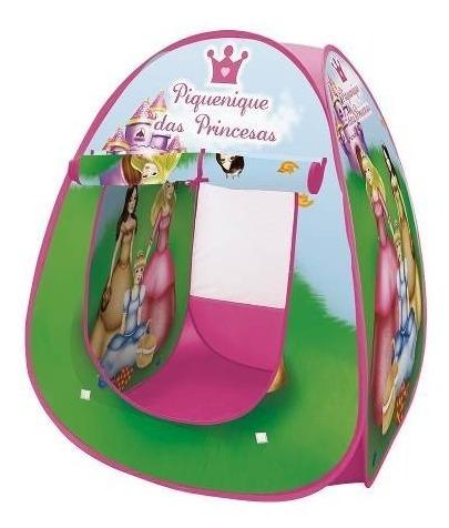 barraca toca iglu infantil piquenique das princesas menina