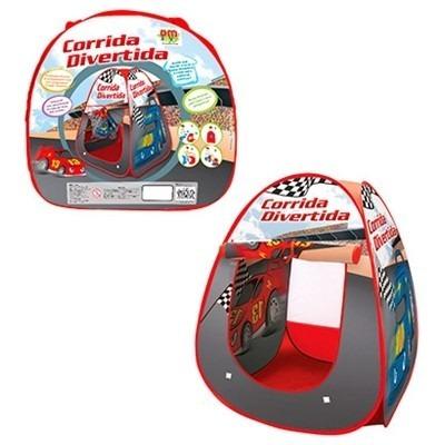 barraca toca infantil carrinhos corrida divertida