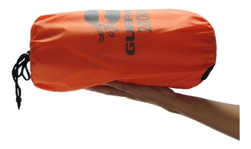 barraca trekking 2 pessoas laranja guepardo nautika