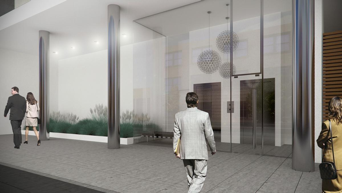 barracas - 2 amb piso alto 53 mts. fte. c/bcon apto prof. c/coch.fija av. reg.de patricios al 200e
