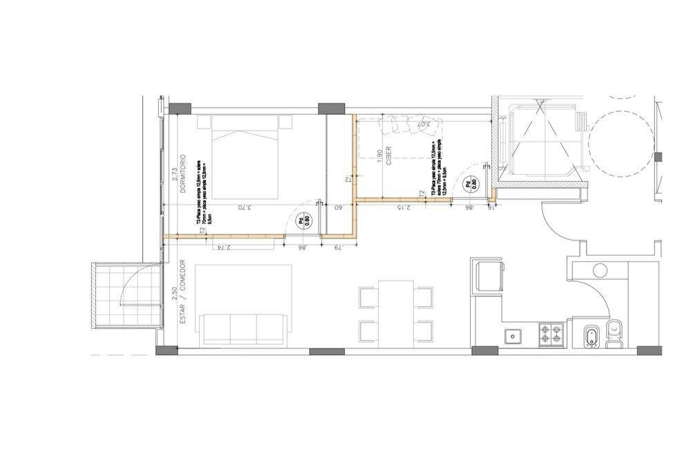 barracas -3 amb apto prof/crédito opción cochera