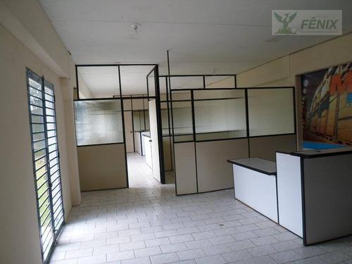 barracão comercial para locação, bairro alto, curitiba. - ba0005