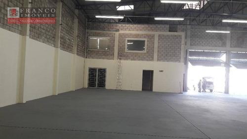 barracão comercial para locação, condominio portal do anhanguera, valinhos. - ba0021