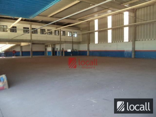 barracão comercial para locação, distrito industrial, são josé do rio preto. - ba0065
