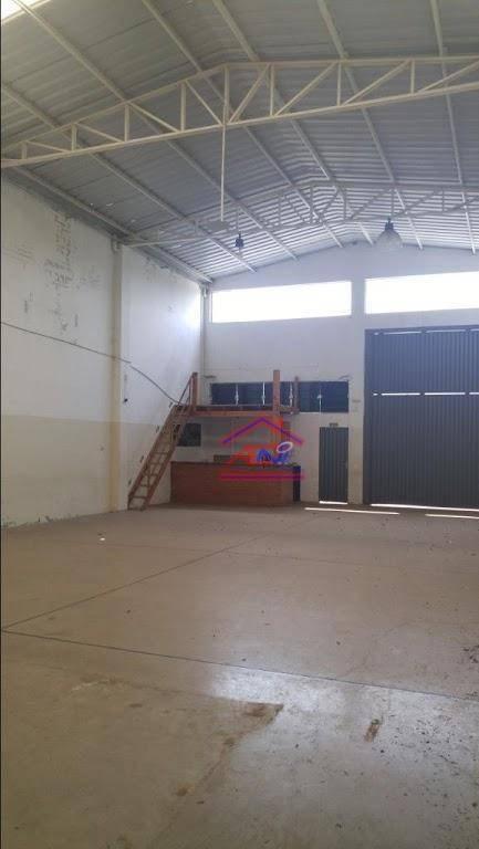 barracão comercial para locação, loteamento remanso campineiro, hortolândia. - ba0004