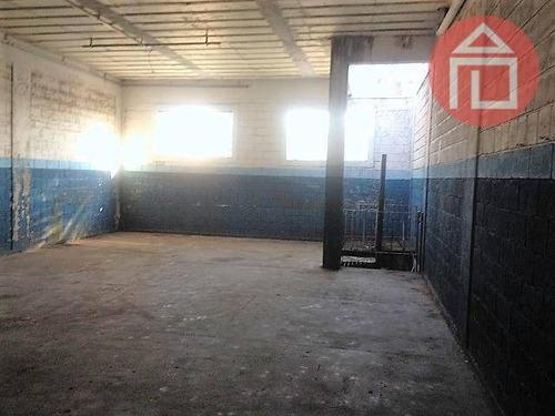 barracão comercial para locação, matadouro, bragança paulista - ba0053. - ba0053