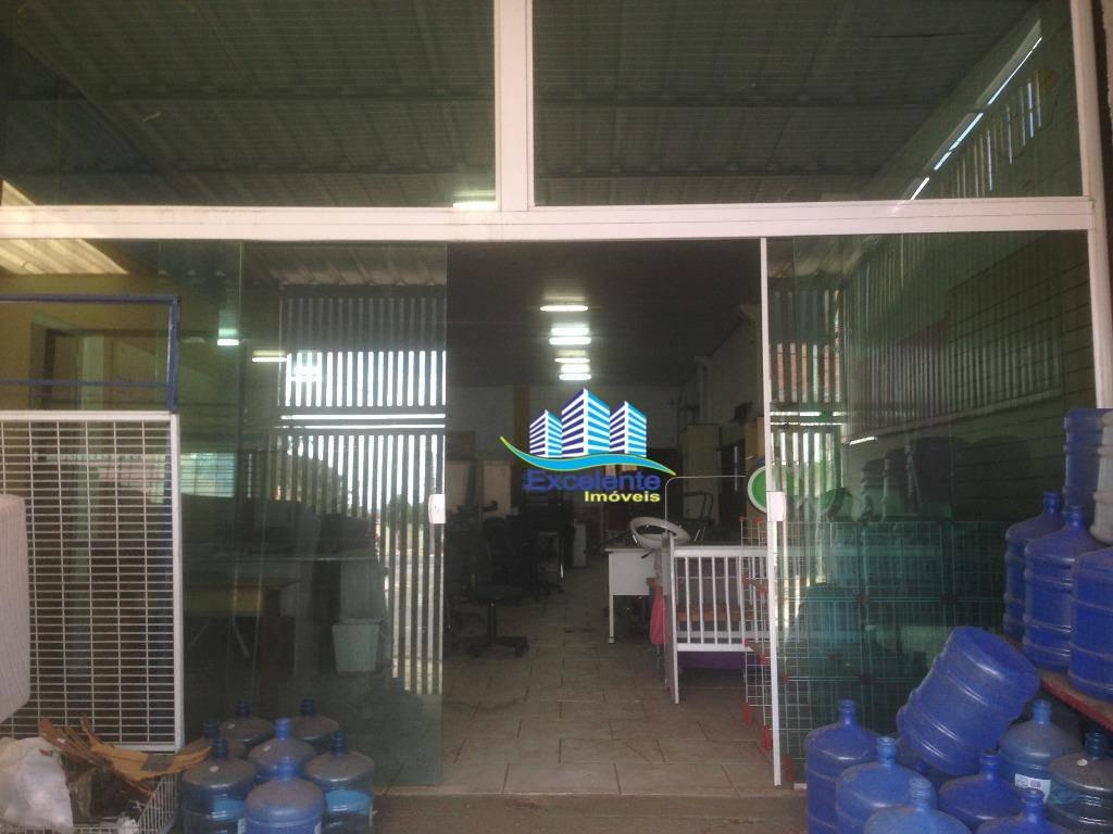 barracão comercial para locação, parque do horto, hortolândia. - ba0004