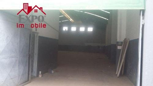 barracão comercial para locação, parque rural fazenda santa cândida, campinas. - ba0068
