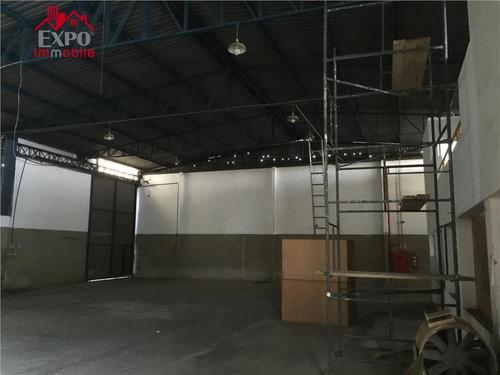 barracão comercial para venda e locação, cidade satélite íris, campinas. - ba0004