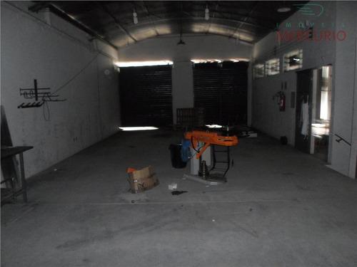 barracão  comercial para venda e locação, jardim cruzeiro do sul, bauru. - ba0004