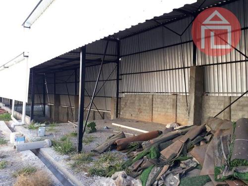 barracão comercial para venda e locação, jardim morumbi, bragança paulista. - ba0077