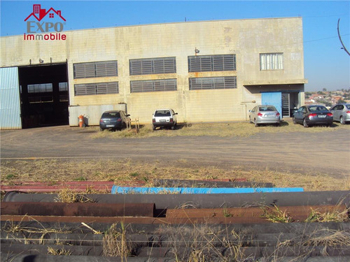 barracão comercial à venda, distrito industrial, campinas. - ba0002