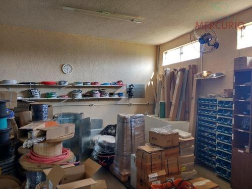 barracão comercial à venda, distrito industrial iii, bauru. - ba0049