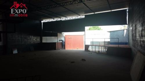 barracão comercial à venda, jardim nova terra (nova veneza), sumaré. - ba0124