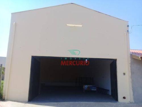 barracão comercial à venda, parque val de palmas, bauru. - ba0087