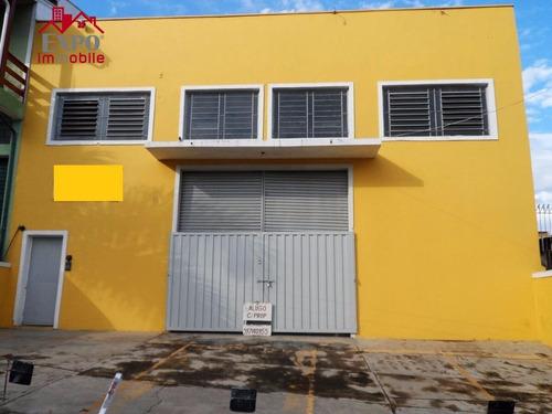 barracão comercial à venda, vila aeroporto, campinas. - ba0096