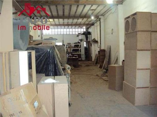 barracão comercial à venda, vila pompéia, campinas. - ba0102