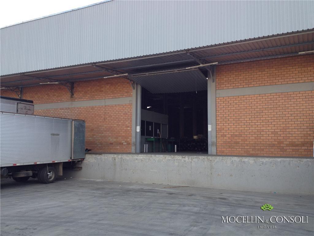 barracão industrial - br 277 - ba0001