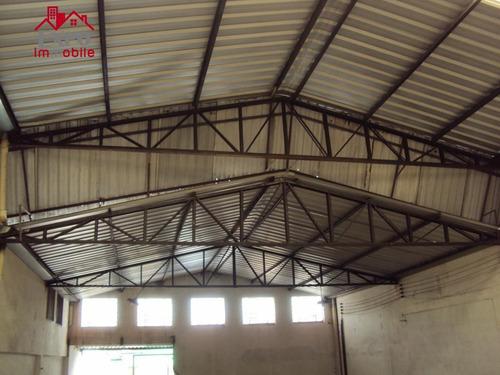 barracão industrial para locação, jardim das bandeiras, campinas. - ba0028
