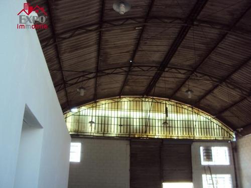 barracão industrial para locação, jardim das bandeiras, campinas. - ba0048