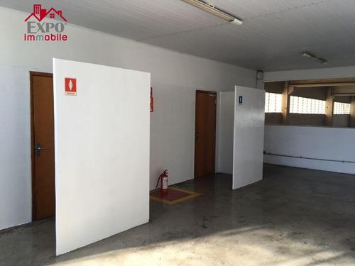 barracão industrial para locação, jardim das bandeiras, campinas. - ba0112