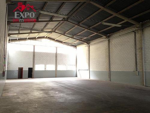 barracão industrial para locação, jardim santa genebra, campinas. - ba0034