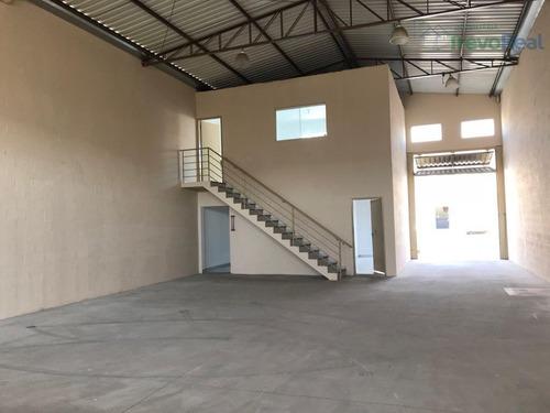 barracão industrial para locação, parque dos cocais, valinhos. - ba0075