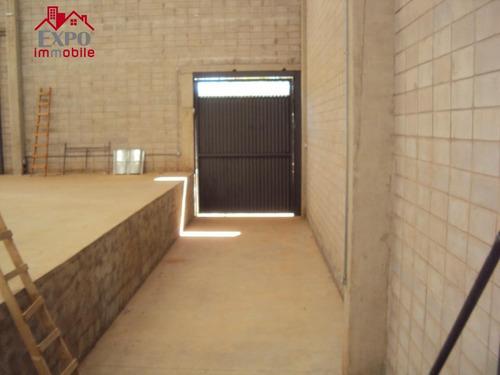 barracão industrial para locação, parque rural fazenda santa cândida, campinas. - ba0036