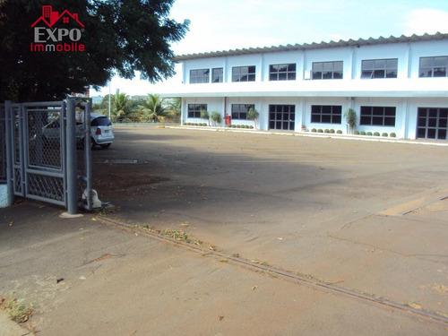 barracão industrial para locação, parque rural fazenda santa cândida, campinas. - ba0038