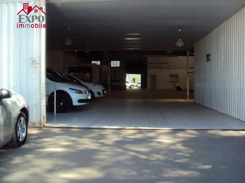 barracão industrial para locação, parque rural fazenda santa cândida, campinas. - ba0047