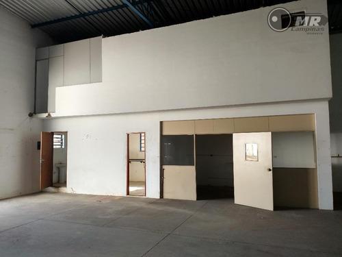 barracão  industrial à venda, recreio campestre jóia, indaiatuba. - ba0013