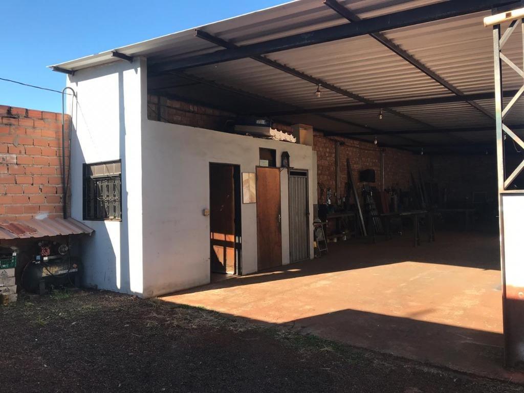 barracão para alugar, 160 m² por r$ 1.500,00/mês - vila cristal - brodowski/sp - ba0015