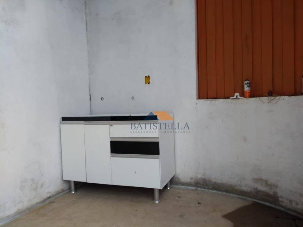 barracão para alugar, 200 m² por r$ 2.600/mês - jardim são simão - limeira/sp - ba0088