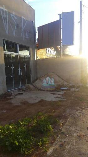barracão para alugar, 240 m² por r$ 7.500/mês - loteamento remanso campineiro - hortolândia/sp - ba0016