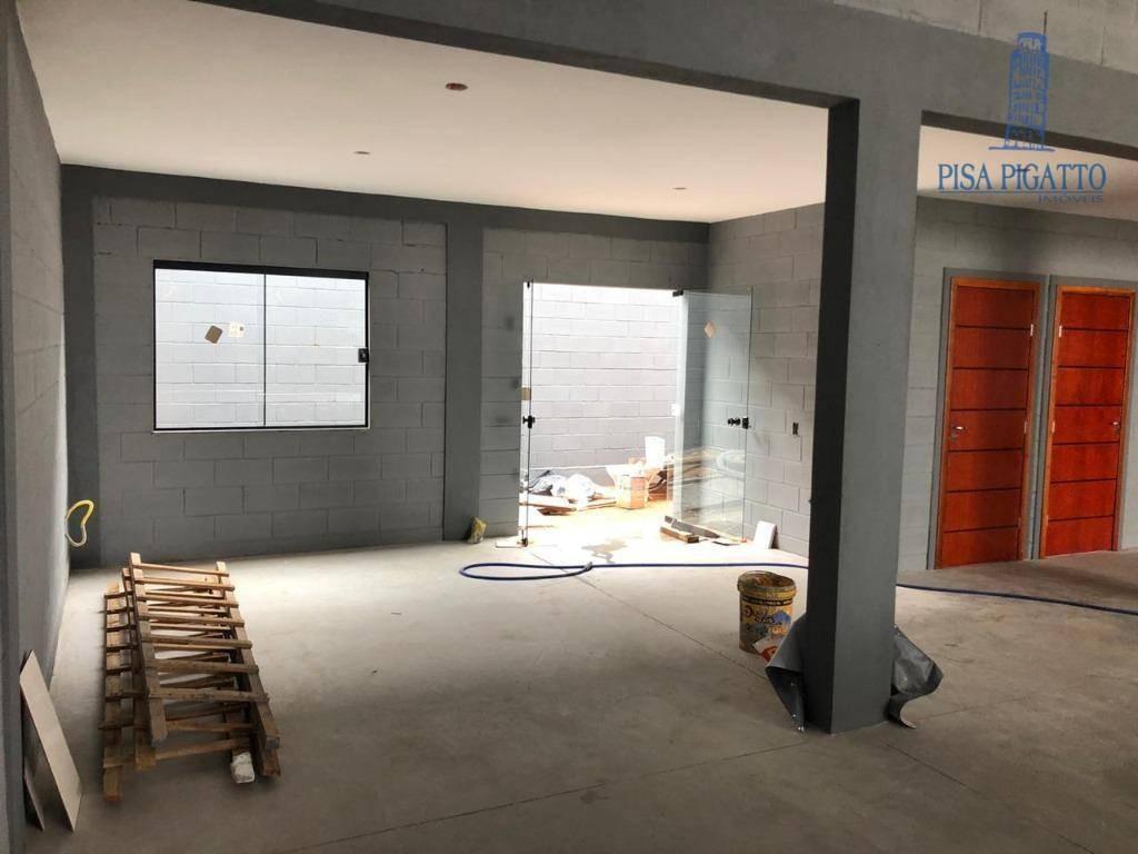 barracão para alugar, 355 m² por r$ 6.500,00/mês - parque dos servidores - paulínia/sp - ba0079