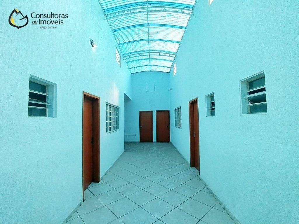 barracão para alugar, 400 m² por r$ 6.000/mês - jardim planalto - paulínia/sp - ba0008