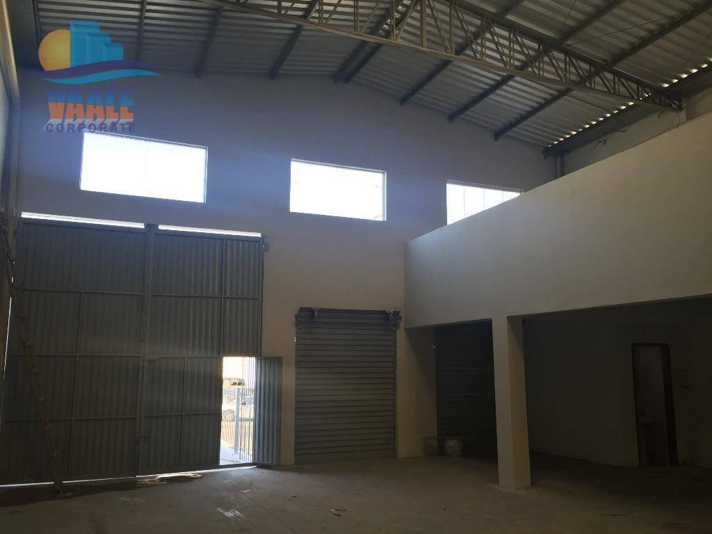 barracão para alugar, 550 m² por r$ 7.000/mês - jardim do lago - campinas/sp - ba0109