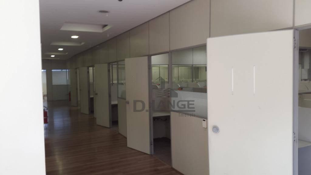 barracão para alugar, 750 m² por r$ 12.000,00/mês - jardim santa genebra - campinas/sp - ba1060