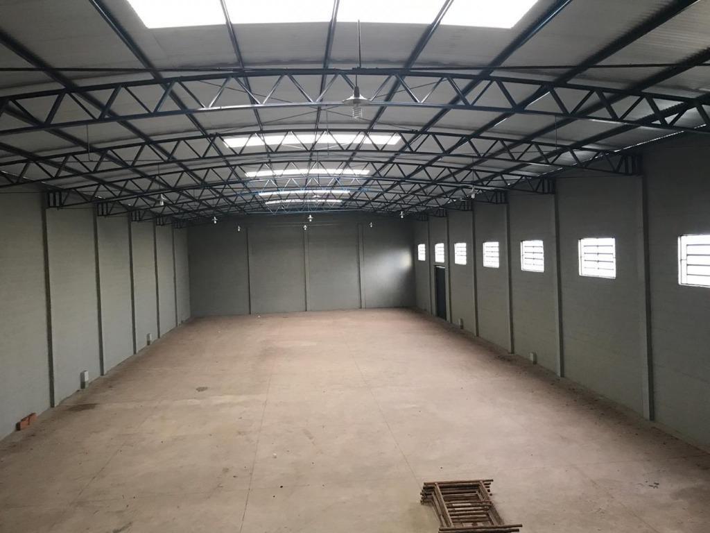 barracão para alugar, 750 m² por r$ 5.000,00/mês - distrito industrial - brodowski/sp - ba0013