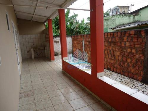 barracão para alugar com casas nos fundos por r$ 2.800/mês - loteamento remanso campineiro - hortolândia/sp - ba0012