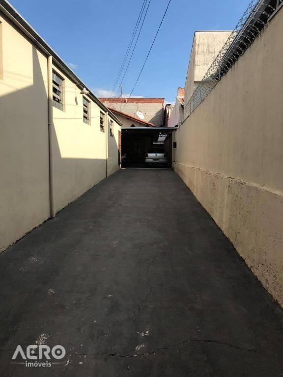 barracão à venda, 180 m² - vila lemos- bauru/sp - ba0140