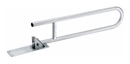 barral agarradera 770mm baño acero rebatible discapacitados