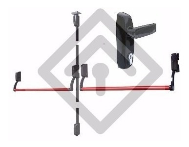 barral antipánico jaque 290 doble, con acceso llave