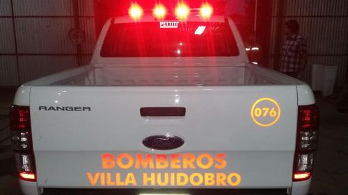 barral baliza 360º led sde mdp bomberos ambulancia auxilio
