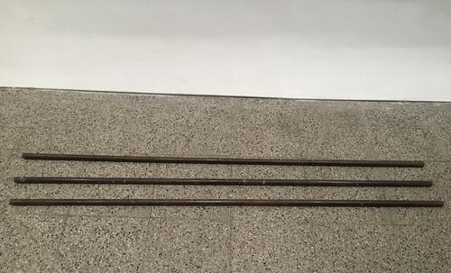 barral caño redondo hueco metálico macizo 162,5cm aprox