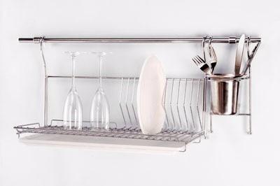 barral cocina para organizador utensillos 5/8 x 90cm bronce