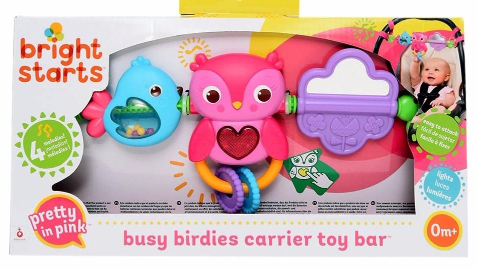 Barral De Juegos Bright Starts Carrier Toy Bar Luz Y Sonidos