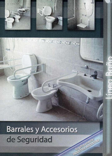 barral de seguridad de acceso doble modelo pared pared